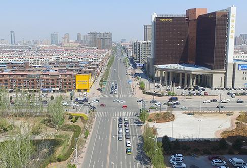 盼盼路道路改造工程